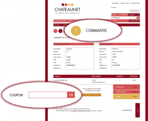 code coupon chateaunet