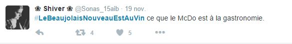 Tweet beaujolais 1